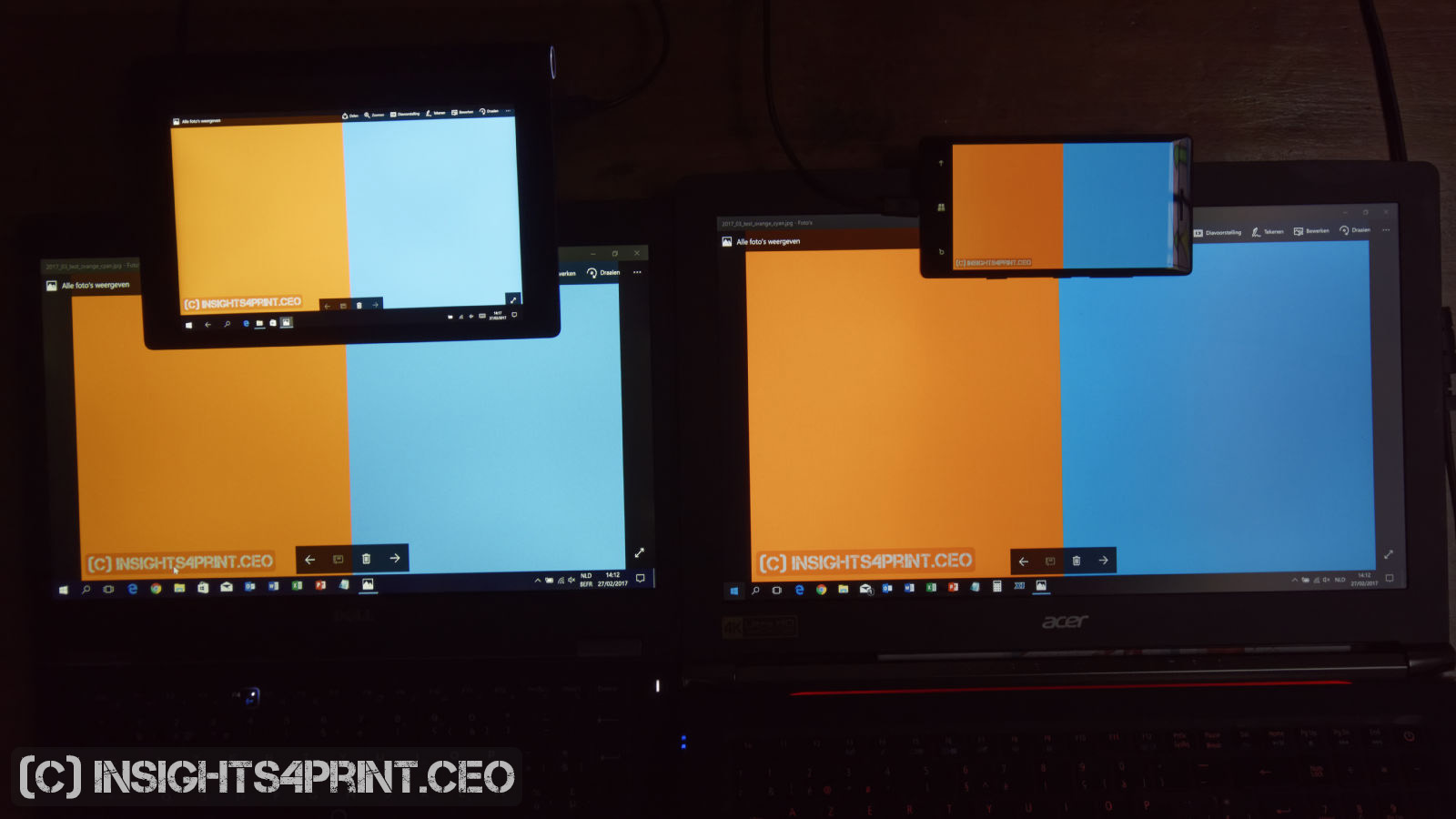 """""""That color was different on MY screen!"""" It's complicated ..."""